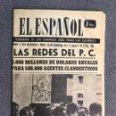Coleccionismo de Revistas y Periódicos: REVISTA SEMANARIO. EL ESPAÑOL NO.709 (A.1962). Lote 168871625