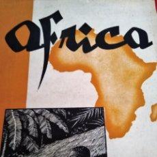 Coleccionismo de Revistas y Periódicos: AFRICA 1945 N 46 47 S.A.I. EL JALIFA MARRUECOS FRANCO MULEY AHMED RAISUNI EL AACHOR IFNI Y SAHARA. Lote 168950068