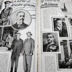 Coleccionismo de Revistas y Periódicos: VIDA NUEVA 1923 DESASTRE AFRICANO DRAMA DE ANNUAL FRACASOS DE LA AUTORIDAD GUERRA DE MARRUECOS. Lote 168952756