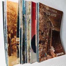 Coleccionismo de Revistas y Periódicos: HISTORIA DE ALICANTE EN FASCICULOS ···41 VOL. FALTA EL FASCICULO Nº 22. ··. Lote 169000920