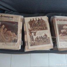 Coleccionismo de Revistas y Periódicos: REVISTA ESTAMPA 1928-1934. Lote 169021488
