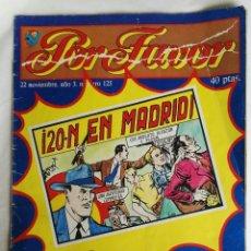 Coleccionismo de Revistas y Periódicos: REVISTA POR FAVOR AÑO 1977 N 125. Lote 169032268