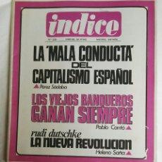 Coleccionismo de Revistas y Periódicos: REVISTA INDICE N° 235. Lote 169034842