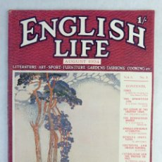 Coleccionismo de Revistas y Periódicos: ENGLISH LIFE MAGAZINE -AUGUST 1924. Lote 169043536