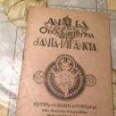 Coleccionismo de Revistas y Periódicos: ANTIGUO LIBRO RELIGIOSO ANALES DE LA OBRA PONTIFICIA DE LAS SANTA INFANCIA AÑO 1936 . Lote 169057784