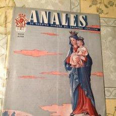 Coleccionismo de Revistas y Periódicos: ANTIGUO LIBRO RELIGIOSO ANALES DE NUESTRA SEÑORA DEL SAGRADO CORAZÓN AÑOS 50. Lote 169057968