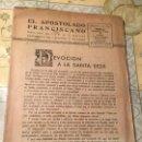 Coleccionismo de Revistas y Periódicos: ANTIGUA REVISTA EL APOSTOLADO FRANCISCANO AÑO 1944. Lote 169058784