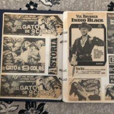 Coleccionismo de Revistas y Periódicos: ÁLBUM RECORTES CINEMATOGRÁFICOS 1972. Lote 169093118