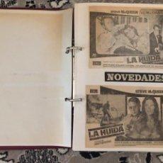 Coleccionismo de Revistas y Periódicos: ÁLBUM RECORTES CINEMATOGRÁFICOS 1974. Lote 169094122