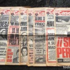 Coleccionismo de Revistas y Periódicos: SEMANARIO POPULAR - EL CASO - 1978 - 10 NUMEROS. Lote 169110684
