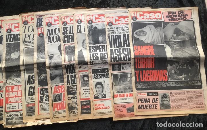 SEMANARIO POPULAR - EL CASO - 1978 - 10 NUMEROS (Coleccionismo - Revistas y Periódicos Modernos (a partir de 1.940) - Otros)