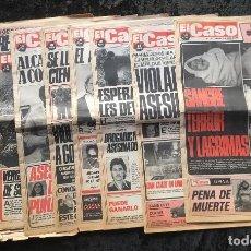 Coleccionismo de Revistas y Periódicos: SEMANARIO POPULAR - EL CASO - 1978 - 10 NUMEROS . Lote 169111228