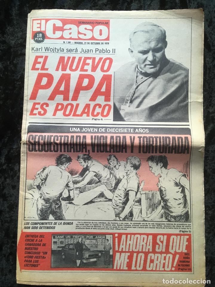 Coleccionismo de Revistas y Periódicos: SEMANARIO POPULAR - EL CASO - 1978 - 10 NUMEROS - Foto 2 - 169112084