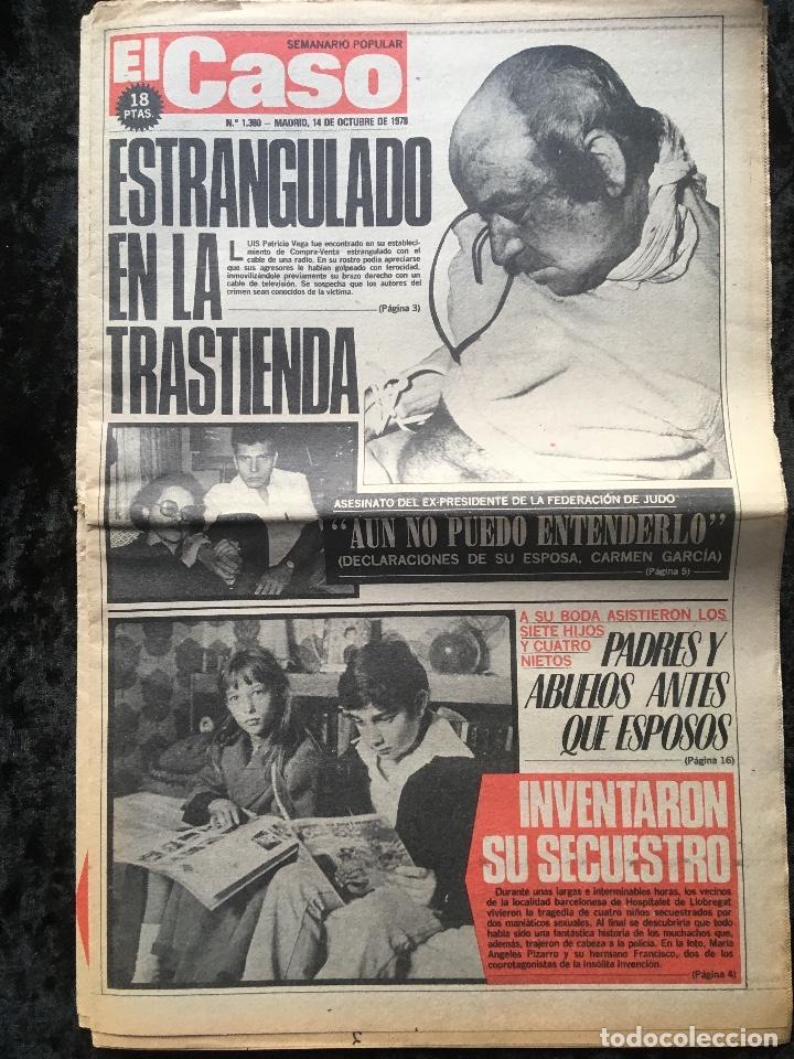 Coleccionismo de Revistas y Periódicos: SEMANARIO POPULAR - EL CASO - 1978 - 10 NUMEROS - Foto 3 - 169112084