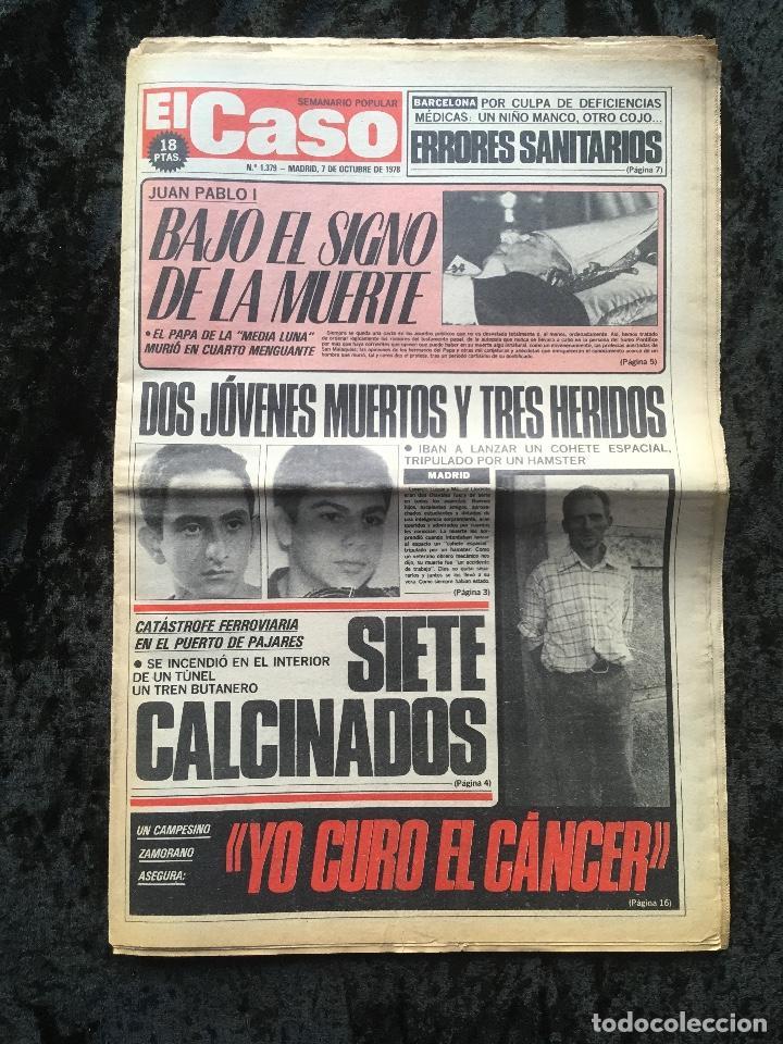 Coleccionismo de Revistas y Periódicos: SEMANARIO POPULAR - EL CASO - 1978 - 10 NUMEROS - Foto 4 - 169112084
