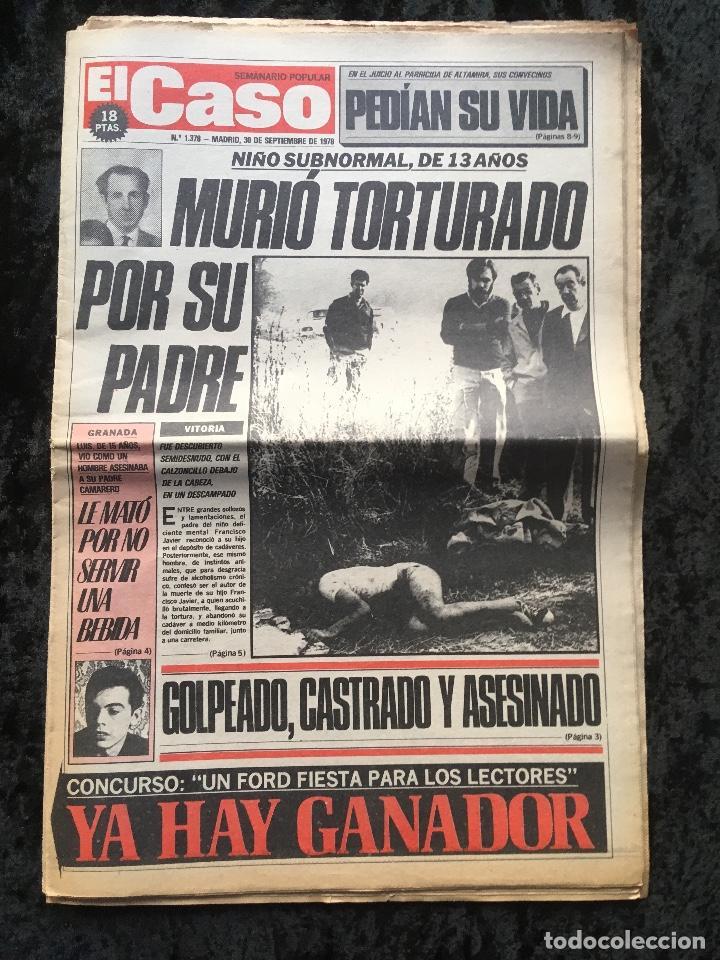 Coleccionismo de Revistas y Periódicos: SEMANARIO POPULAR - EL CASO - 1978 - 10 NUMEROS - Foto 5 - 169112084
