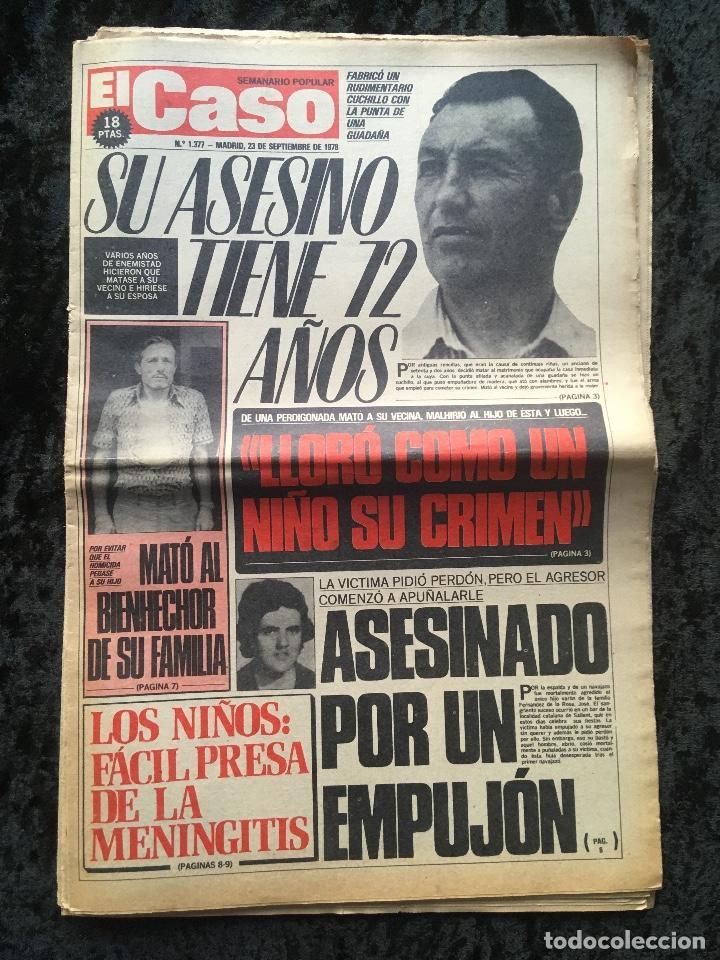 Coleccionismo de Revistas y Periódicos: SEMANARIO POPULAR - EL CASO - 1978 - 10 NUMEROS - Foto 6 - 169112084