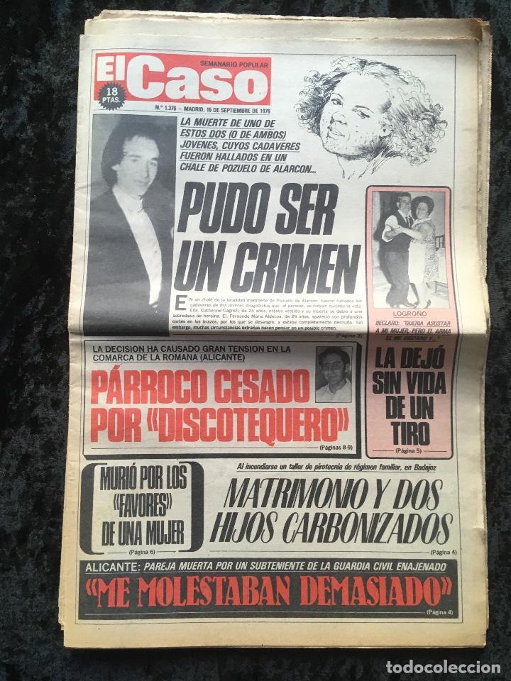 Coleccionismo de Revistas y Periódicos: SEMANARIO POPULAR - EL CASO - 1978 - 10 NUMEROS - Foto 7 - 169112084