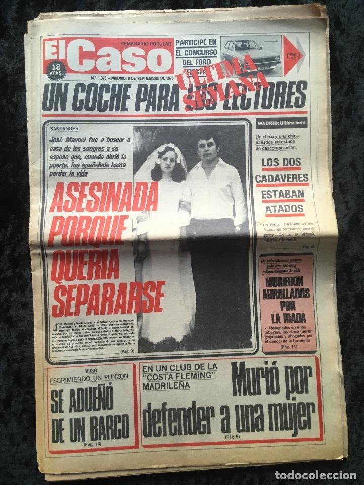 Coleccionismo de Revistas y Periódicos: SEMANARIO POPULAR - EL CASO - 1978 - 10 NUMEROS - Foto 8 - 169112084