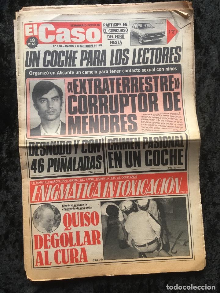 Coleccionismo de Revistas y Periódicos: SEMANARIO POPULAR - EL CASO - 1978 - 10 NUMEROS - Foto 9 - 169112084