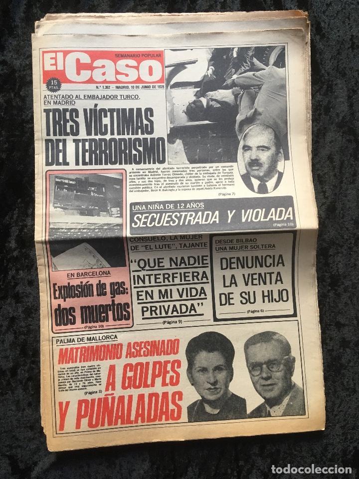 Coleccionismo de Revistas y Periódicos: SEMANARIO POPULAR - EL CASO - 1978 - 10 NUMEROS - Foto 10 - 169112084