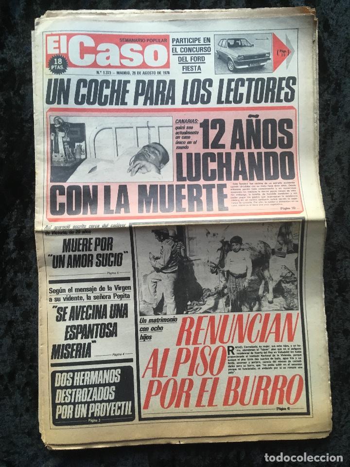 Coleccionismo de Revistas y Periódicos: SEMANARIO POPULAR - EL CASO - 1978 - 10 NUMEROS - Foto 11 - 169112084