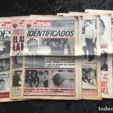 Coleccionismo de Revistas y Periódicos: SEMANARIO POPULAR - EL CASO - 1978 - 9 NUMEROS. Lote 169112832