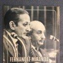 Coleccionismo de Revistas y Periódicos: FALANGE. PRENSA NACIONAL DEL MOVIMIENTO. FERNANDEZ - MIRANDA EN LAS CORTES (H.1970?). Lote 169132592