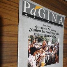 Coleccionismo de Revistas y Periódicos: PÁGINA ABIERTA 98. REVISTA CULTURAL. BUEN ESTADO. GRAPA. RARÍSIMO. Lote 169138968