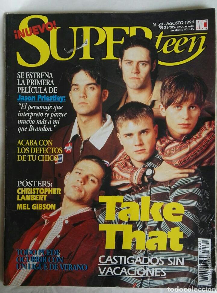 REVISTA SUPER TEEN AGOSTO 1994 TAKE THAT (Coleccionismo - Revistas y Periódicos Modernos (a partir de 1.940) - Otros)