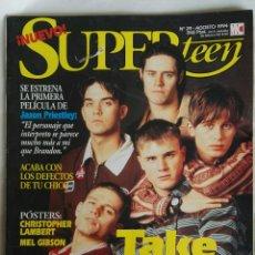 Coleccionismo de Revistas y Periódicos: REVISTA SUPER TEEN AGOSTO 1994 TAKE THAT. Lote 169139382
