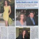 Coleccionismo de Revistas y Periódicos: RECORTE REVISTA SEMANA Nº 2934 1996 GARBIÑE ABASOLO. MARTA VALVERDE. Lote 169168208