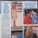 Coleccionismo de Revistas y Periódicos: RECORTE REVISTA SEMANA Nº 2934 1996 PAULA VAZQUEZ. SERGIO DALMA, MARIA REYES, ROBERTO CARLOS. Lote 169168504