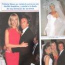 Coleccionismo de Revistas y Periódicos: RECORTE REVISTA SEMANA Nº 2934 1996 VALERIA MAZZA. Lote 169168724