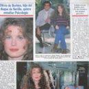 Coleccionismo de Revistas y Periódicos: RECORTE REVISTA SEMANA Nº 2860 1994 OLIVIA DE BORBÓN. LAS GRECAS. Lote 169169108