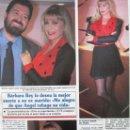 Coleccionismo de Revistas y Periódicos: RECORTE REVISTA SEMANA Nº 2860 1994 BARBARA REY. Lote 169169196