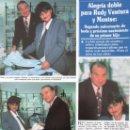 Coleccionismo de Revistas y Periódicos: RECORTE REVISTA SEMANA Nº 2860 1994 RUDY VENTURA. 2 PGS. Lote 169169400