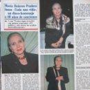 Coleccionismo de Revistas y Periódicos: RECORTE REVISTA SEMANA Nº 2860 1994 MARIA DOLORES PRADERA. Lote 169169484