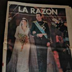 Coleccionismo de Revistas y Periódicos: LA RAZÓN. Lote 169219412