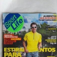 Coleccionismo de Revistas y Periódicos: REVISTA SPORT LIFE ABRIL 2014 N° 180. Lote 169242698