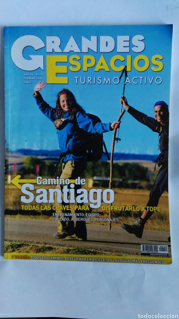 REVISTA GRANDES ESPACIOS TURISMO ACTIVO CAMINO DE SANTIAGO (Coleccionismo - Revistas y Periódicos Modernos (a partir de 1.940) - Otros)