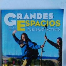 Coleccionismo de Revistas y Periódicos: REVISTA GRANDES ESPACIOS TURISMO ACTIVO CAMINO DE SANTIAGO. Lote 169242758