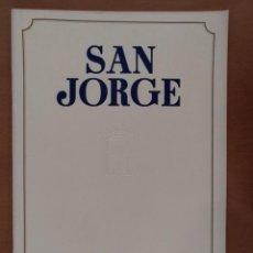 Coleccionismo de Revistas y Periódicos: REVISTA SAN JORGE DIPUTACION BARCELONA Nº 4 OCTUBR1951 PALACIO SANT JORDI/JERONIMO MARTORELL. Lote 169270904