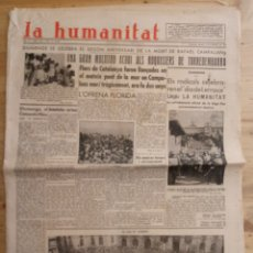 Coleccionismo de Revistas y Periódicos: LA HUMANITAT - 10 SETEMBRE 1935 - Nº 1105 - ANY IV. Lote 169304792