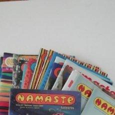 Coleccionismo de Revistas y Periódicos: LOTE REVISTAS NAMASTE 22 NUM. (2 REPETIDOS). Lote 169320892