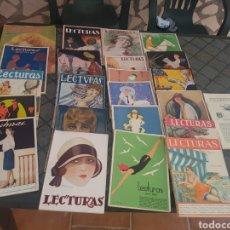 Coleccionismo de Revistas y Periódicos: LOTE DE 24 REVISTAS DE LECTURAS. Lote 169322068