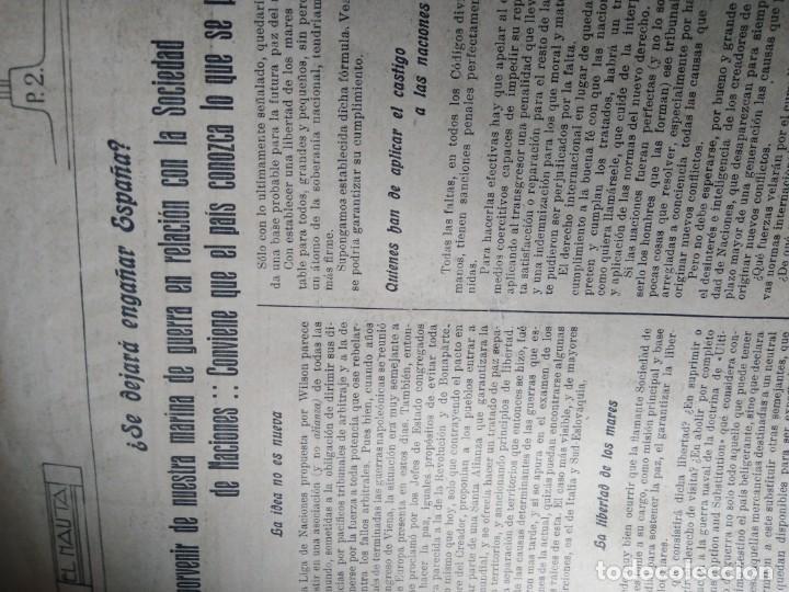 Coleccionismo de Revistas y Periódicos: RARISIMO EL NAUTA SUBMARINOS BARCOS MILITARES DE GUERRA MARINA DE GUERRA ESPAÑOLA - Foto 2 - 169342264