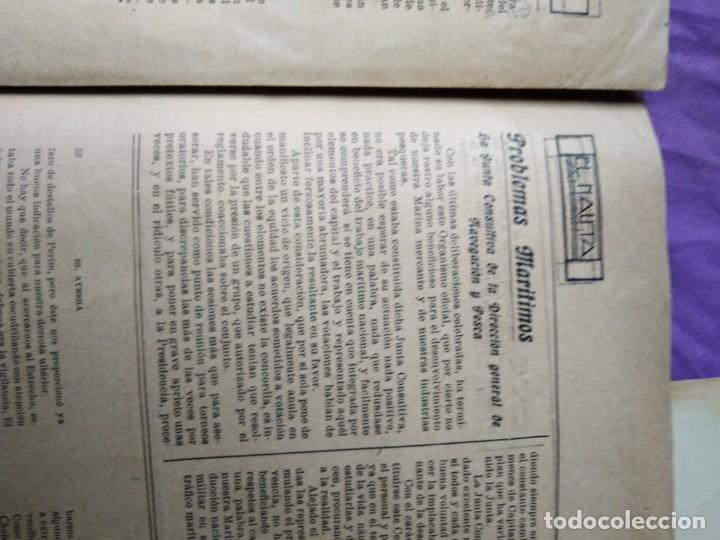 Coleccionismo de Revistas y Periódicos: RARISIMO EL NAUTA SUBMARINOS BARCOS MILITARES DE GUERRA MARINA DE GUERRA ESPAÑOLA - Foto 4 - 169342264