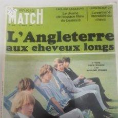 Coleccionismo de Revistas y Periódicos: 22143 - REVISTA - PARIS MATCH - Nº 886 - AÑO 1966 - EN PORTADA ROLLING STONES - EN FRANCES. Lote 169572372