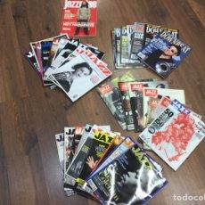 Coleccionismo de Revistas y Periódicos: LOTE DE 33 REVISTAS VARIADAS DE JAZZ.. Lote 169582498